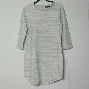 Gap Blue/White 3/4 sleeve T-shirt Dress S